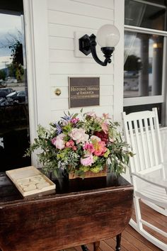 Amber & Will's Wedding Flowers | Katalin Green Events | Montana Wedding | Loneman Photography
