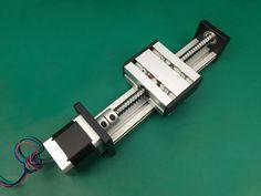 SG Ballscrew 1204  rail 75mm Travel Linear Guide + 57 Nema 23 Stepper Motor CNC Stage Linear Motion Moulde Linear #Affiliate