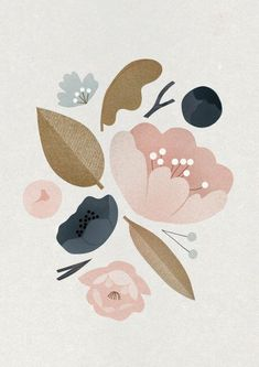 Win! To celebrate the launch week of We Are Scout, Howkapow are giving away this gorgeous Peonies print by UK artist Clare Owen, via we-are-scout.com.