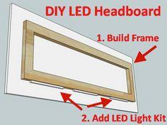 35 LED Headboard Lighting Ideas For Your Bedroom