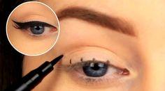 Em muitas maquiagens, o delineado é o detalhe que faz toda a diferença para criar um efeito lindo e dar um olhar poderoso. Porém, nem sempre é fácil acertar a mão no traço, e muitas mulheres passam muito tempo tentando deixar as linhas retinhas e harmoniosas. Para acabar com essa dificuldade, a blogueira irlande