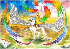 "Princess and her unicorn by rain-ant.deviantart.com on @DeviantArt  Commissoin ""Princess and her unicorn""  #castle #colorful #copics #drawing #female #fox #girl #grass #ink #magic #pegasus #princess #rainbow #rock #sky #smiling #summoning #unicorn #watercolors #windeye #wings #yelllow #yellow_dress #art #rainant #art_of_rain_ant #windeye_art #commissoin   Follow me: instagram.com/ant.rain facebook.com/rain.ant/ www.rainant.com"