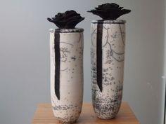 Raku Pottery, Pottery Art, Kintsugi, Grands Pots, Pottery Workshop, Ceramic Texture, Red Plates, Pet Urns, Vases