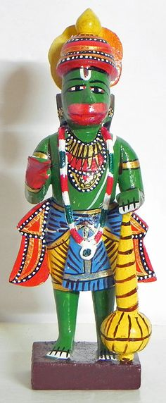 Hanuman - Kondapalli Doll (Wood))