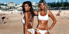 A Bikini a Day co-founders Natasha Oakley and Devin Brugman share their secrets to maintaining a beach body year-round.