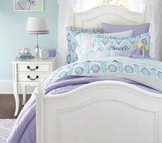Image result for girls bedroom navy purple