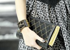 Chanel Book Clutch
