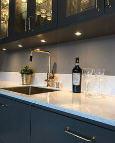 Interior Design Living Room, Interior Decorating, Modern Kitchen Interiors, Black Kitchens, Dining Room, House Design, House Styles, Home Decor, Future