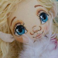 Доброе утро. Нежное, пушистое, легкое.... #torrytoys #эльфы #эльфиика #кукларучнойработы #dollstagram #doll #collectiondolls #textildoll #handmadedoll #кукладлядевочки #кукладляинтерьера #bambola