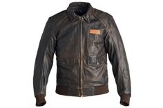 Triumph Steve McQueen King Leather Motorcycle Jacket | Baxtton