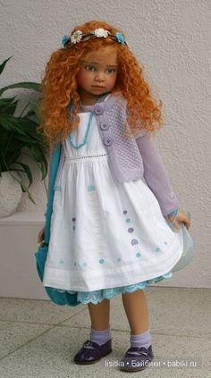 Куклы из новой коллекции Ангелы Саттер / Коллекционные куклы Angela Sutter / Бэйбики. Куклы фото. Одежда для кукол