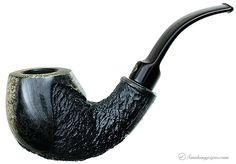 New Tobacco Pipes: Winslow Crown Partially Rusticated Bent Apple (Viking) at Smokingpipes.com