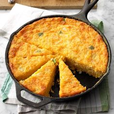 Creole Corn Bread Recipe -Corn bread is a staple of Cajun and Creole cuisine. This is an old favorite that I found in the bottom of my recipe drawer, and it really tastes wonderful. —Enid Hebert, Lafayette, Louisiana