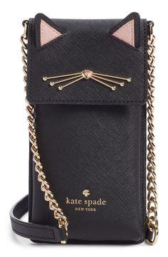 58da6a673068 cat smartphone crossbody bag - Kate Spade  nordstr… Cat Purse