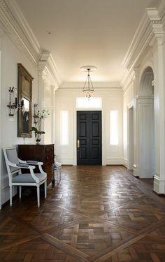 beautiful wood floor detail