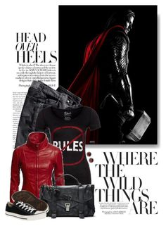 """""""Thor"""" by ameve ❤ liked on Polyvore"""