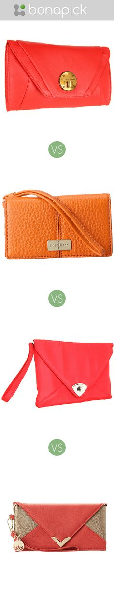 Which bright clutch is better to buy as a gift for a friend?  Present for a girl, woman, sister, girlfriend, wife for Christmas, BD, birthday, New Year, small handbag, orange, pink, coral, brown, color