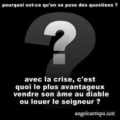 crise de foi …