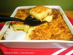 Around the World - in favorite recipes: Finnish Grated Potato Casserole