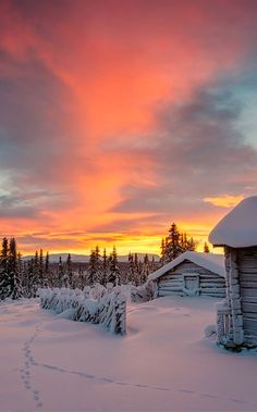 Reasons to Travel to Sweden During Winter Winter cabin in Staffsvallen, Sweden • Mikael Svensson Photography