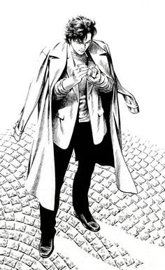 "Saeba Ryo from ""City Hunter"", by  Hojo Tsukasa"