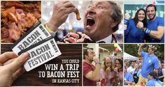 bacon club, internet life, june contest, bacon fest, win someth