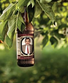 Funny photo effects Picture on the bottle - PhotoFaceFun