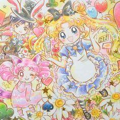 """sailor-moon-rei: """"  by やましめじ """""""