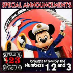 123: Special Announcements! (brought to you by Numbers 12 and 3)