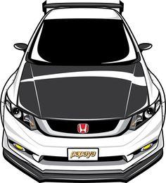 Honda Civic FB Done! Thx for ordering poster with us , i hope you like it! Honda Civic FB Done! Thx for ordering poster with us , i hope you like it! Honda Civic Si, Honda Crv, Civic Car, Honda Civic Coupe, Honda Civic Hatchback, Japanese Domestic Market, Car Vector, Car Illustration, Japan Cars