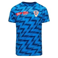 8604b54bf 2018 World Cup Jersey Croatia Replica Blue Training Shirt 2018 World Cup  Jersey Croatia Replica Blue Training Shirt