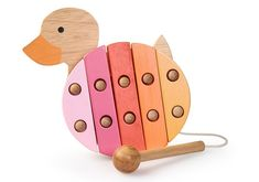 Egmont Toys Duck Wooden Xylophone | Kids' Rooms