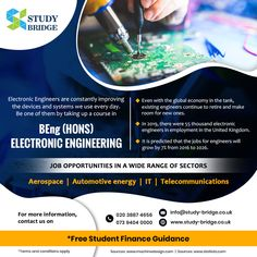 Study In London, Electronic Engineering, Student Discounts, Global Economy, Student Loans, Career Advice, Engineers, About Uk, Communication