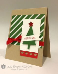 2014  Festival Of Trees Photopolymer Stamp Set135059 $15.95, Tree Punch135859 $16.95, Hearts Border Punch133784 $15.95, Itty Bitty Accents Punch Pack 133787 $16.95, Bitty Banners Big Shot Die Framelits129267 $14.95