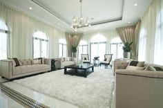 the entertainment area / living room