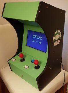 Tutoriel complet pour faire soi-même une borne d'arcade, A base d'un Raspberry Pi et Scratch !                                                                                                                                                                                 Plus