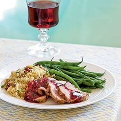 Grilled Pork with Blackberry-Sage Sauce | If your blackberries are particularly sweet or tart, adjust the amount of sugar in the sauce accordingly by 1/2 teaspoon or so to find the right balance.
