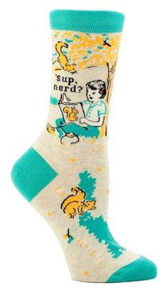 Amazon.com: Blue Q Sock, ahoy crew socks: Clothing