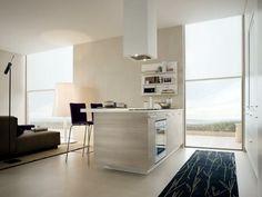 barras de cocina de estilo minimalista