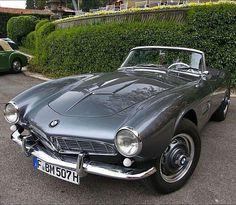 Unlike any other BMW ◾1958 BMW 507 #DriveVintage Via: @old_roads