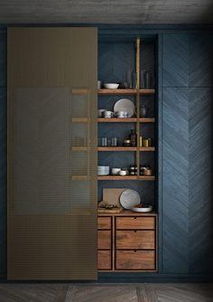 dark and moody kitchen #moderninteriordesigncafe