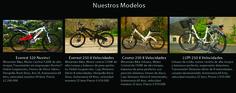 Conoce los modelos de las #bicicletas #electricas #redwings