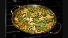 Curry Bodi With Potato A Vegetarian Delight.