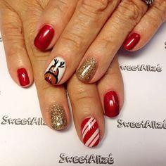 christmas by sweetalize #nail #nails #nailart