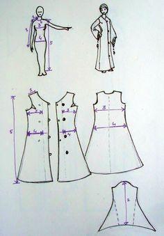 abaya pattern