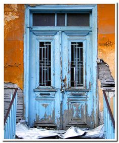 Old door at Kavala town East Macedonia Greece Macedonia Greece, House Doors, Travel Info, Greece Travel, Plan Your Trip, Traditional House, Greek, Europe, Explore
