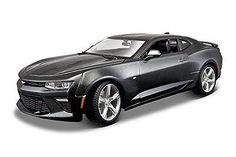 Maisto Car, Kids Diecast Toy, 2016 Chevrolet Camaro SS Car, Colors May Vary, New