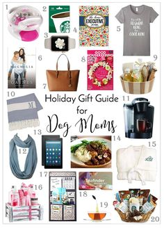 Holiday Gift Guide for Dog Moms | http://www.thelazypitbull.com/holiday-gift-guide-for-dog-moms/