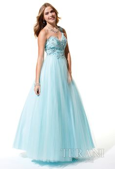 Prom Dress of the Day: Terani Couture P1639 - http://prombelles.com/2013/11/13/prom-dress-day-terani-couture-p1639/