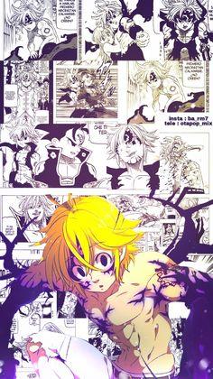 Drawing Wallpaper, Hero Wallpaper, Tumblr Wallpaper, Seven Deadly Sins Anime, 7 Deadly Sins, Meliodas Vs, Series Manga, Manga Anime, Anime Art